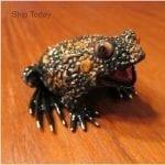 Bronze Frog Sculpture Boobala