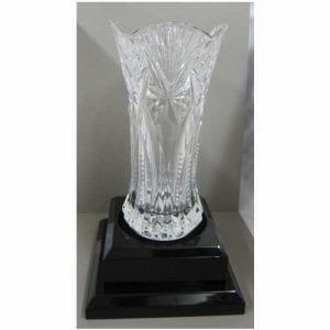 See Crystal and Glass for vase