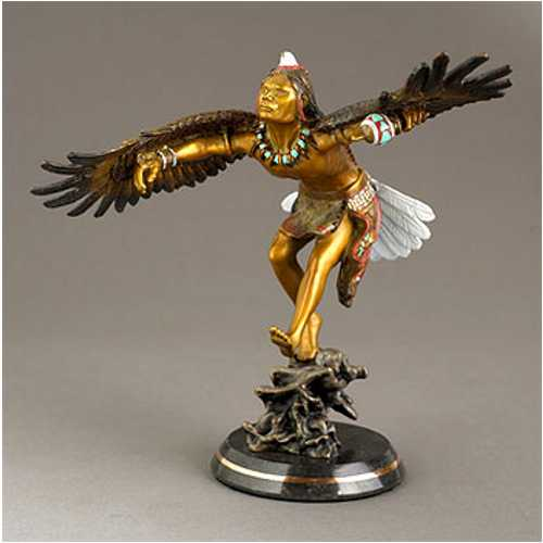 Eagle Dancer Bronze Statue