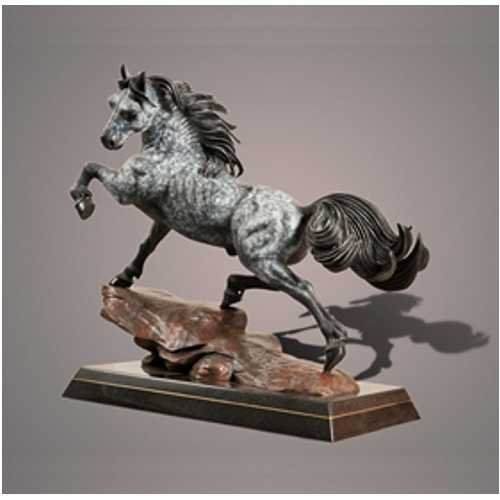 Stallion Horse Sculpture