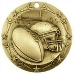 Large 3″ Football Medals