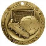 Large 3″ Soccer Medals